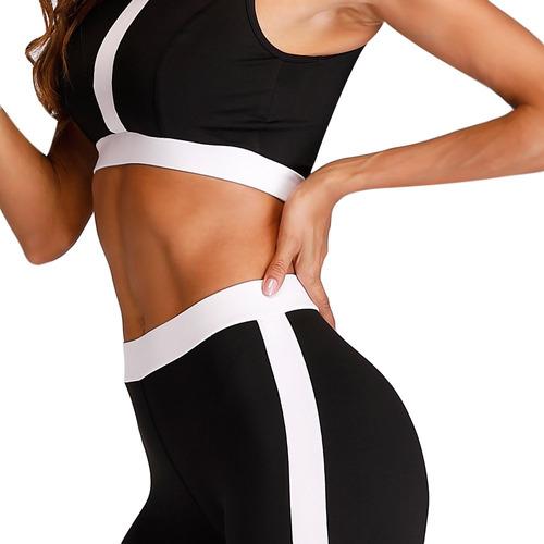 ronda collar sin mangas medio cintura dos deportes -piece tr