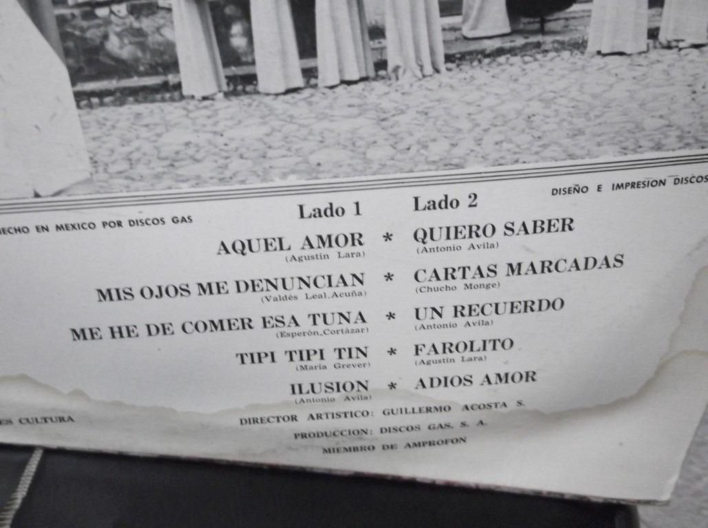 162b2ffde Rondalla Las Flores De La Laguna Lp -   129.00 en Mercado Libre