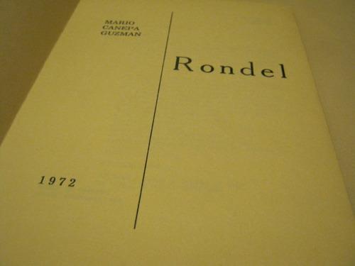 rondel (poemas), por mario cánepa guzmán