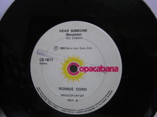 ronnie cord ep duplo 45 rpm 1960 e cp simples 1960