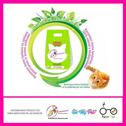 ronroneos arena sanitaria para gatos - 10kg