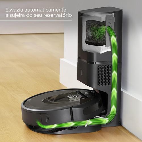 roomba i7+ robô aspirador de pó inteligente irobot