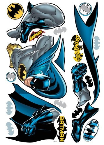 roommates rmk1864gm batman bold justice peel and stick giant