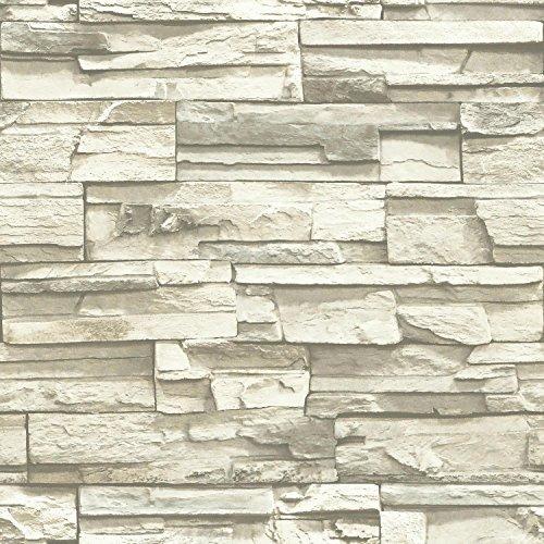 roommates rmk9026wp natural stacked piedra apilada, papel t