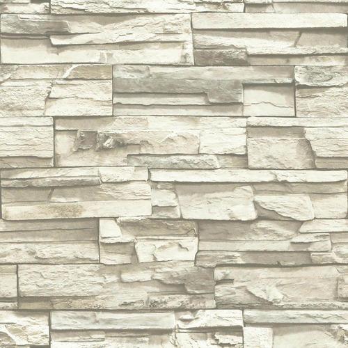 roommates rmk9026wp natural stacked piedra apilada, papel ta
