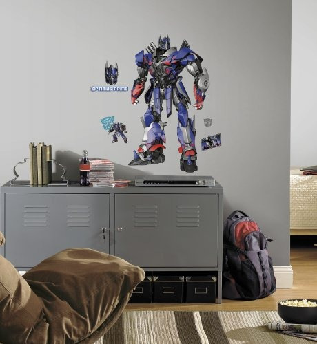 roommates transformers edad  extintion optimus prime pelar y