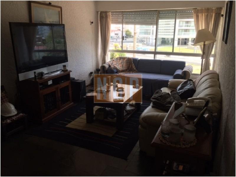 roosevelt, punta del este piso alto con vista al mar! , cómodo y muy luminoso . modenos muebles!  -ref:16658