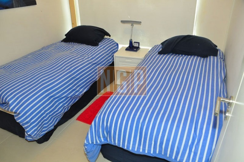 roosevelt, punta del este piso alto con vista al mar!   cómodo y muy luminoso . modenos muebles!  -ref:6122