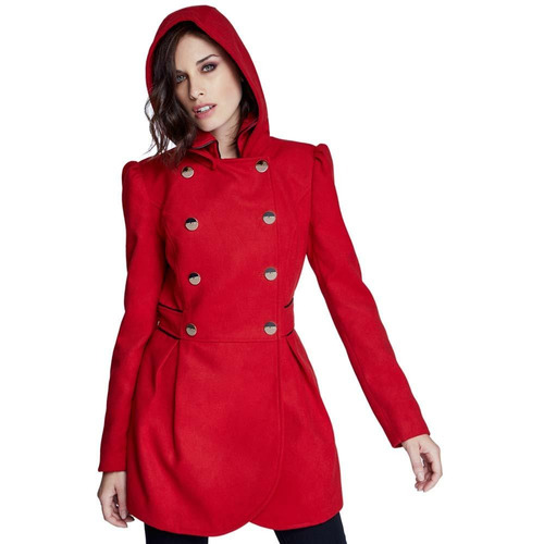 ropa abrigadora abrigo casual schatz woman 309b - 177756