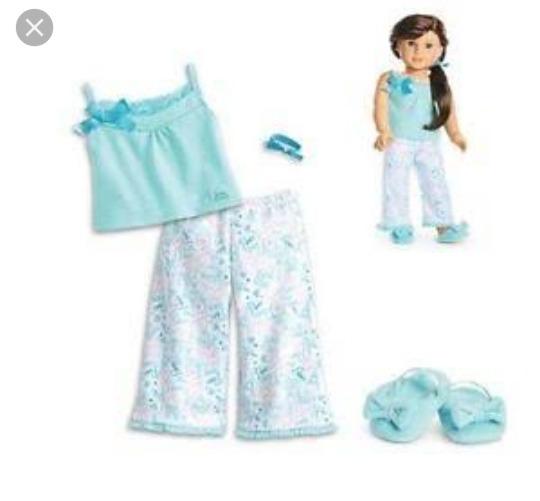 Ropa American Girl Pijama Grace -   549.00 en Mercado Libre ea8efbad34972