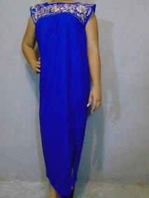 986875f05 Vestido Manta Bordada Mujer - Vestidos en Mercado Libre México
