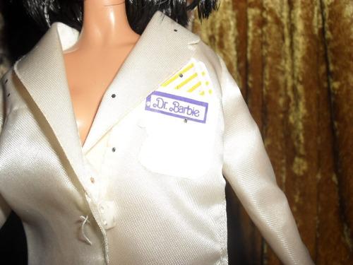 ropa bata de doctora para barbie r126
