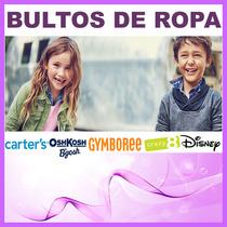 Bulto Carters Niñas Niños Original 12 Sets T2 A T14