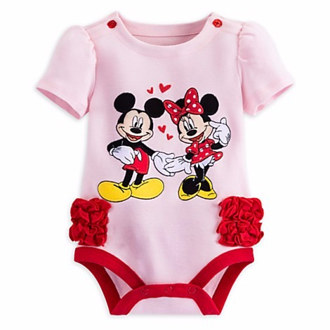 Ropa De Bebe - Body Minnie Y Mickey Mouse - Disney Store -   430 56d55be77b3