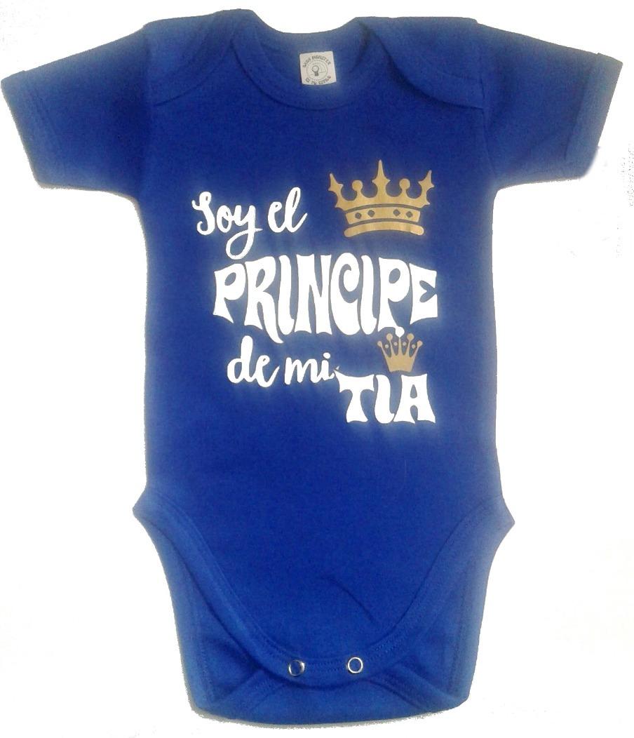 Ropa Bebe Body Bodie Príncipe De Mi Tía Baby Monster -   28.900 en ... 9b66baf0f85