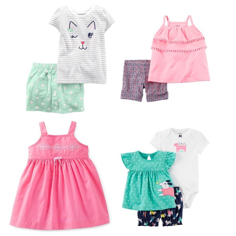 4a35a0b500256 ropa bebe carters conjuntos bebe niña lote 6m. Cargando zoom.