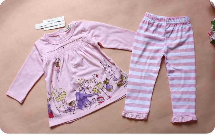 Pijama Rosa Con Elefantes - 4 - 6 Meses Ropa De Bebé Rosa -   249.99 ... cb92cbdfa7f