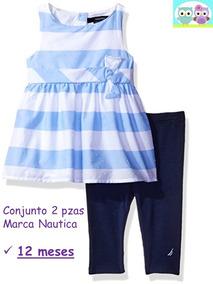1c5c30ccc Precio. Publicidad. Ropa Bebé Conj 2 Pzas Nautica Elegante Bco/azul/ Marino