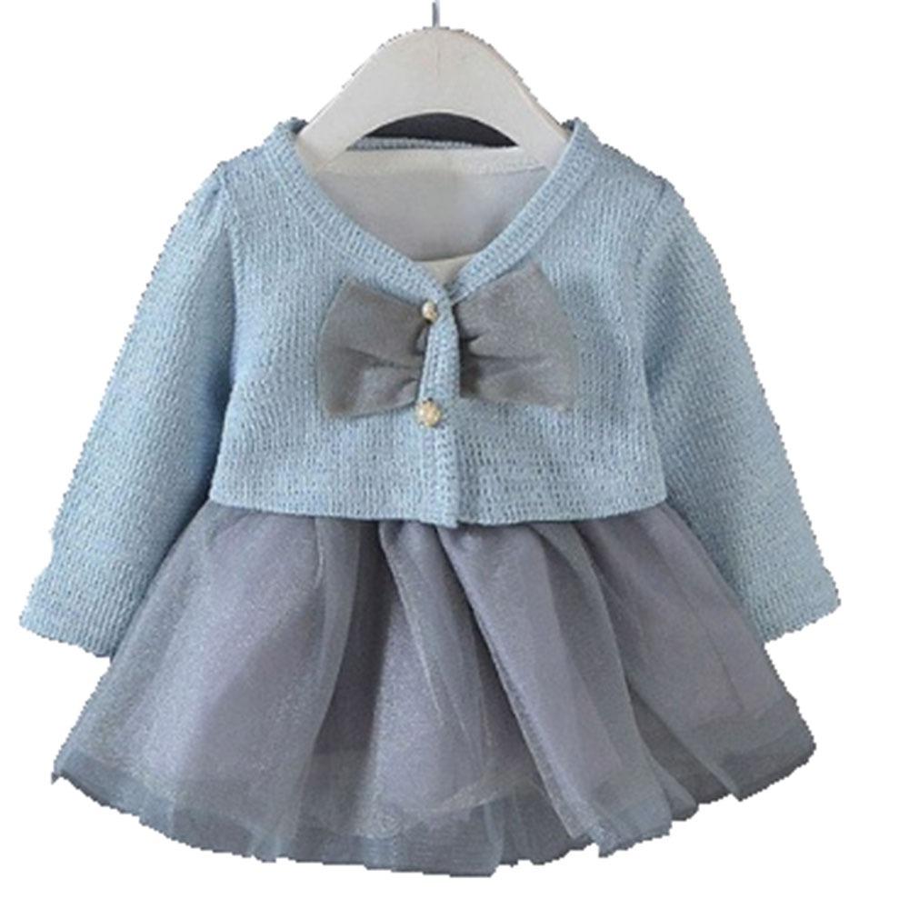 6a79f86e6 ropa bebé niña invierno vestido tutú con suéter 2 piezas. Cargando zoom.
