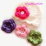 Gorritos Para Niñas Y Bebes 4 En 1 (flores Cambiables)