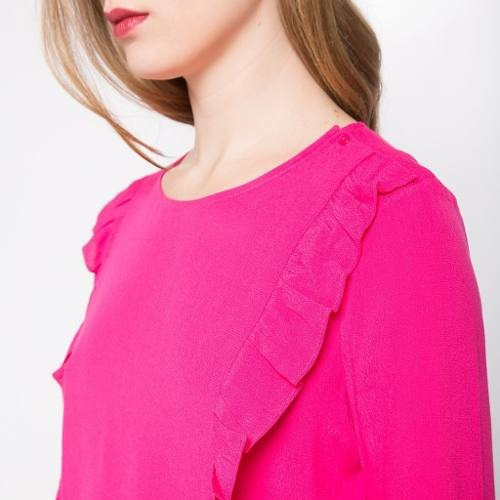 ropa - blusa 880828037  basement  talla l para mujer color f