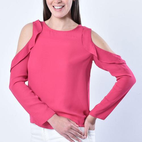 ropa - blusa 880909340  basement  talla m para muj s959
