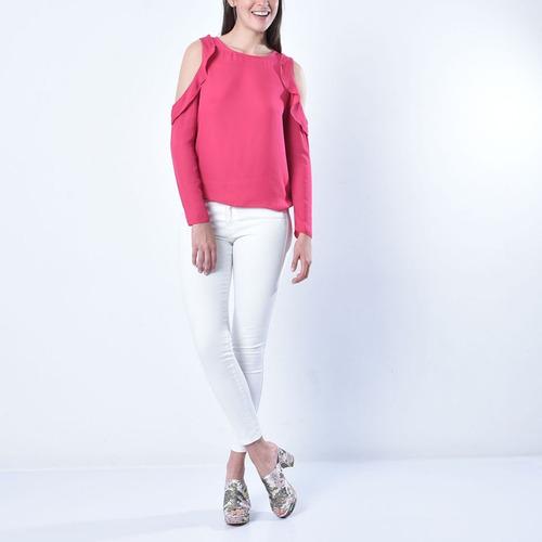 ropa - blusa 880909340  basement  talla m para mujer color f