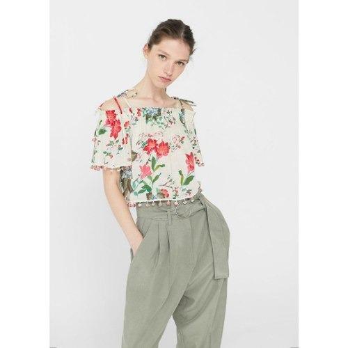 ropa - blusa pompon 3138463  liv  talla m para mujer color f