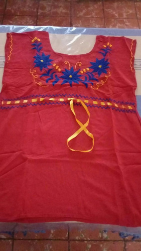 ropa bordada a mano típica de oaxaca