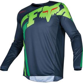 e5275ae672c86 Jersey Fox Racing Motocross Enduro 180 Cota 2019 Azul