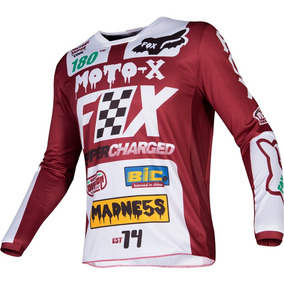 7d66bcdad3344 Jersey Fox Racing Modelo Platinum Rojo en Mercado Libre México