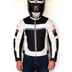 c7cd61f2df4 Chamarra Motociclista Deportiva Protecciones Bco n R7-0901