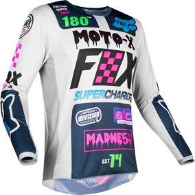 4bc7eeca58b6f Jersey Fox 180 Czar Gris Youth Niño Motocross Mtb Downhill
