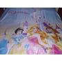 Princesas!! Divino Cubrecama O Colcha Infantil 1plaza Nueva