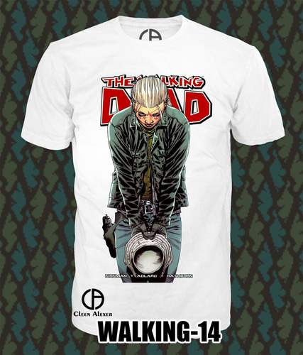 ropa camisetas  the walking dead ropa padrisima zombie