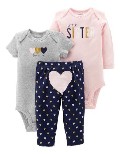 ropa carters / conjuntos carters mamelucos bebé niña
