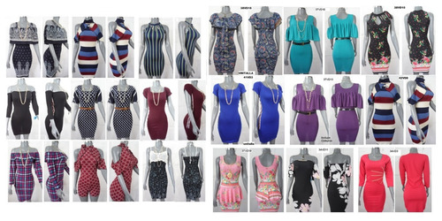 ropa casual barata para mujer de moda 30 pzas mayoreo último