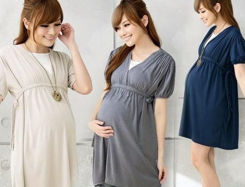ropa casual vestidos blusas para embarazadas plus gorditas