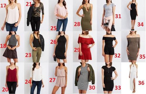 ropa charlotte russe colección 2016 (mujeres)
