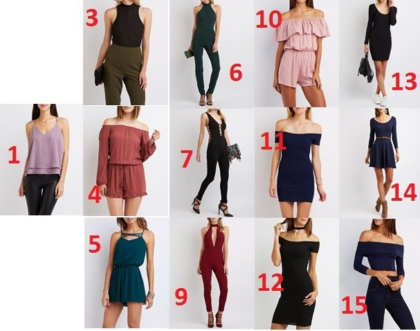 27245882ab067 Ropa Charlotte Russe Colección 2016 (mujeres) - Bs. 0