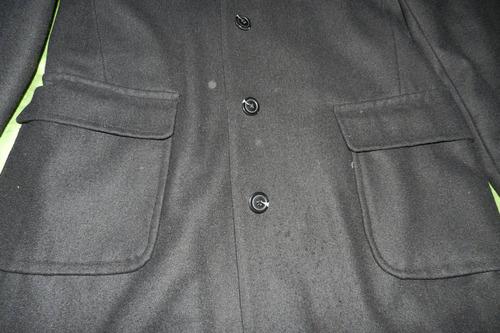 ropa dama - tapado largo de paño