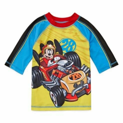 fed4f74d50f0 Ropa De Baño Disney Mickey Mouse Para Niños Original Usa