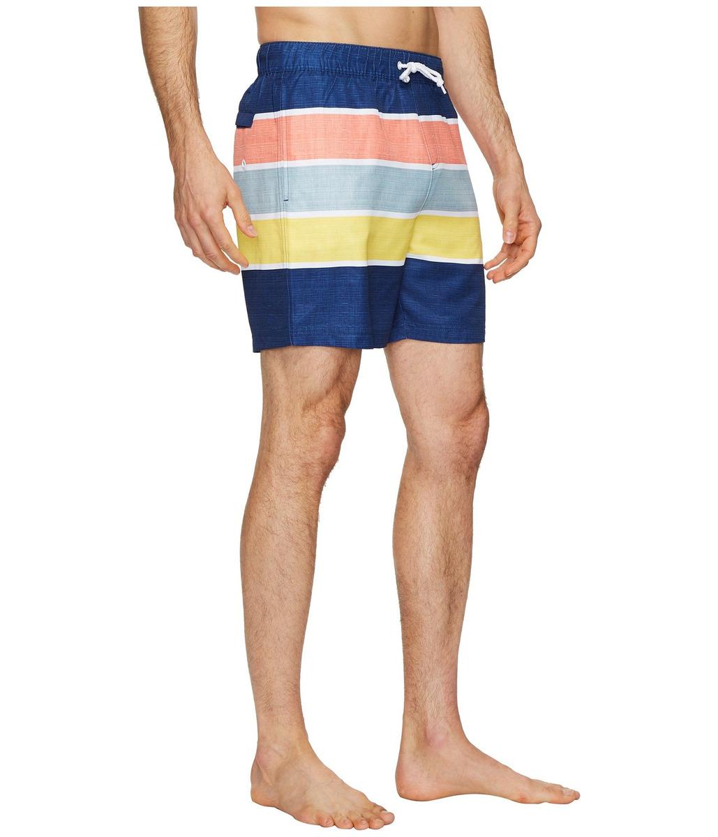 b555285b80 Ropa De Baño Hombre Original Penguin Color Block Stripe Elas - S ...
