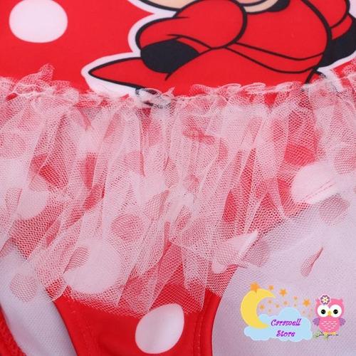 ropa de baño para bebé minnie