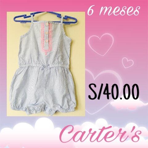 ropa de bebé carter's original usa nuevo