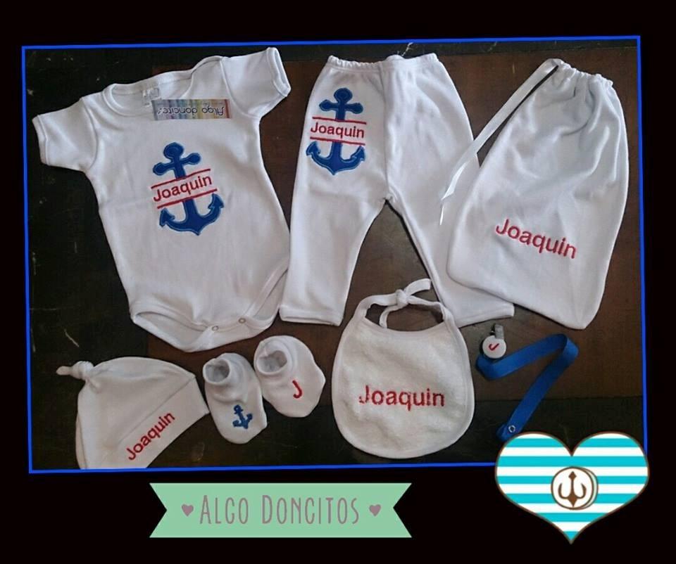 ropa de bebe con nombre