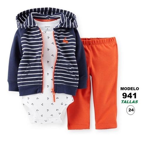 ropa de bebes carters conjuntos para niñas/niños talla 12-24
