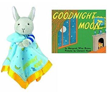 ropa de cama para bebésblankie goodnight moon conejito..