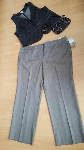 ropa de dama tallas extra 20 y 24 w 2x 3x pantalón