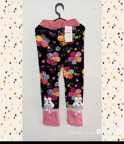 ropa de invierno para niñas. pantalon polar.